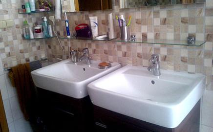 Rekontrukce 2 koupelny